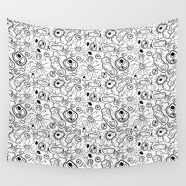 """""""Cells and bacteria's party"""" vol 3 Wall Tapestry"""