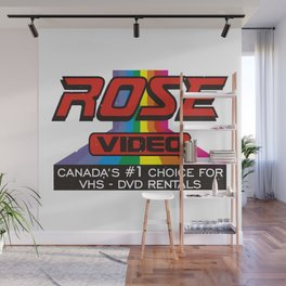 ROSE VIDEO Canada's #1 Choice for Vhs-Dvd Rentals Wall Mural
