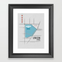 Parks of Chicago: Union Park Framed Art Print