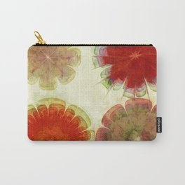 Gingles Style Flowers  ID:16165-084302-93370 Carry-All Pouch