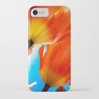 tulips iPhone & iPod Cases featuring Tulips by Ylenia Pizzetti