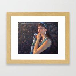 """""""Just Right"""" Framed Art Print"""