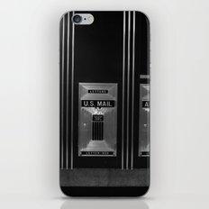 Mailboxes Black and White Original Photo iPhone & iPod Skin