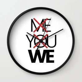 We are forever Wall Clock