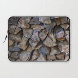 The wood pile Laptop Sleeve