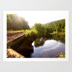 Foothills of the Berkshires Art Print