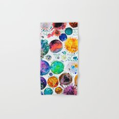 Mini Planets Hand & Bath Towel