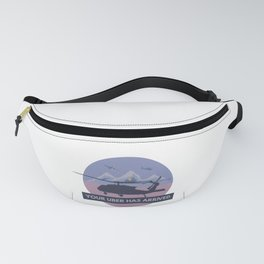 Black Hawk UH-60 Military Helicopter Pilot Fanny Pack