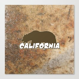 California Bear Canvas Print