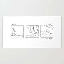 puddle Art Print