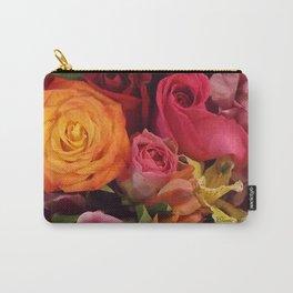A Summer Bouquet Carry-All Pouch