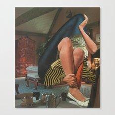 Contemplative Shroud Canvas Print