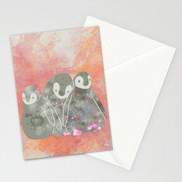 Layla Penguins Stationery Cards