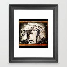 Whipping Corpses 1 Framed Art Print