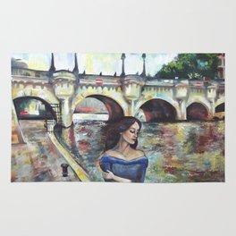Under Paris skies. Rug