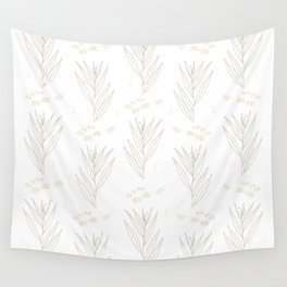 White Willow Wall Tapestry