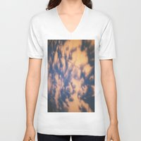 shadow V-neck T-shirts featuring shadow  by Alexandra Bauer