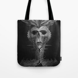 Skeleton Lady Tote Bag