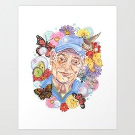 Poppa Art Print
