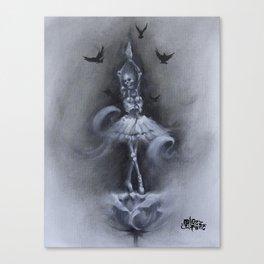 Skellerina Canvas Print