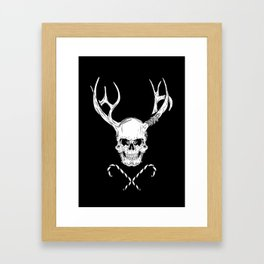 Creepy Xmas Framed Art Print
