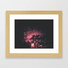 explosions in the sky Framed Art Print