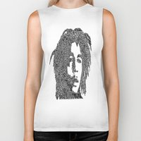 marley Biker Tanks featuring Marley by Travis Poston