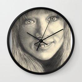 pattie boyd Wall Clock