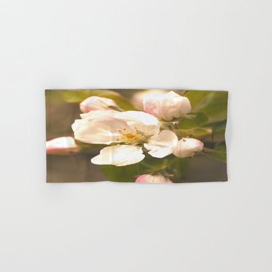 Apple Blossoms Hand & Bath Towel