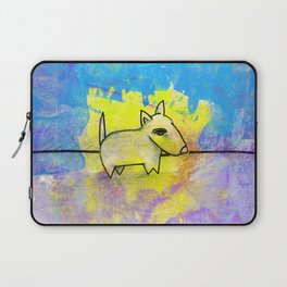 Dog No.1b by Kathy Morton Stanion Laptop Sleeve
