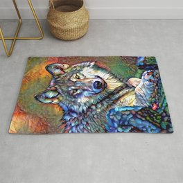 Aura of the Wolf Rug
