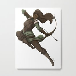 The Last Arrow Metal Print