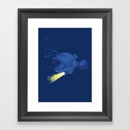 I GOT A NEW LIGHT!!!!!!!  Framed Art Print