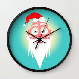Santa Lolo/ Character & Art Toy design for fun Wall Clock