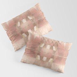 Desert Sun - Mid Century Modern Watercolor Pillow Sham