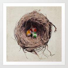 Yoshi Eggs Art Print
