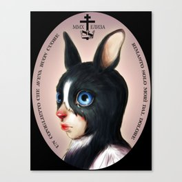 The Last Bunny  Canvas Print
