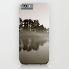Misty Lake B&W iPhone 6s Slim Case