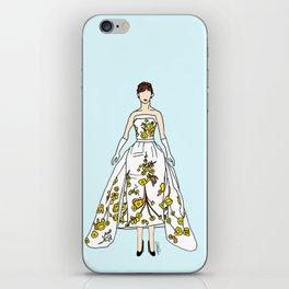 Audrey Hepburn Vintage Retro Fashion 2 iPhone Skin