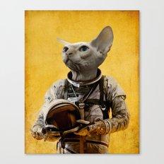 Proud astronaut Canvas Print