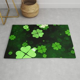 Shamrocks  St. Patrick's Day Rug