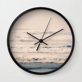 A Gray Day Wall Clock