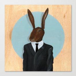 David Lynch | Rabbit Canvas Print