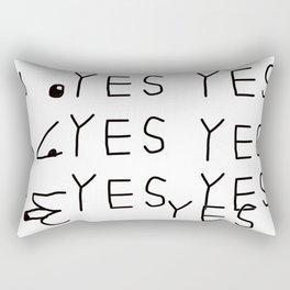 Yes.Yes! Rectangular Pillow