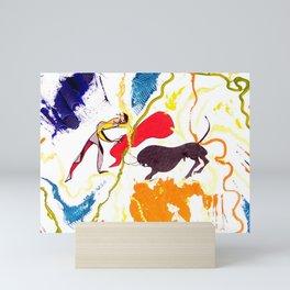 Spanish BULFIGHT           by Kay Lipton Mini Art Print