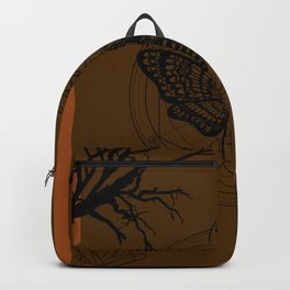 Witch Craft Orange Backpack