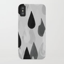 No. 9 - Raindrops iPhone Case