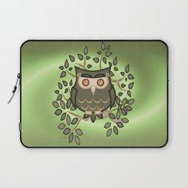 The Wise Old Owl .. fantasy bird Laptop Sleeve