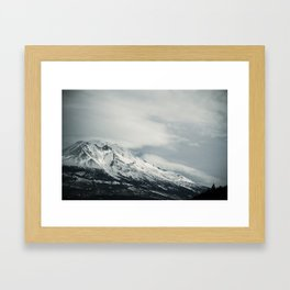 mount II (California)  Framed Art Print
