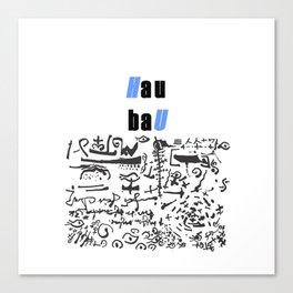 HAU BAU 5891 Canvas Print